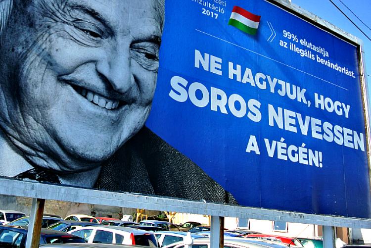 Hegedűs István véleményétkérdezte 2017. július 13-án a 168 óra a magyar kormány Soros Györgyöt támadó plakát-hadjáratáról.